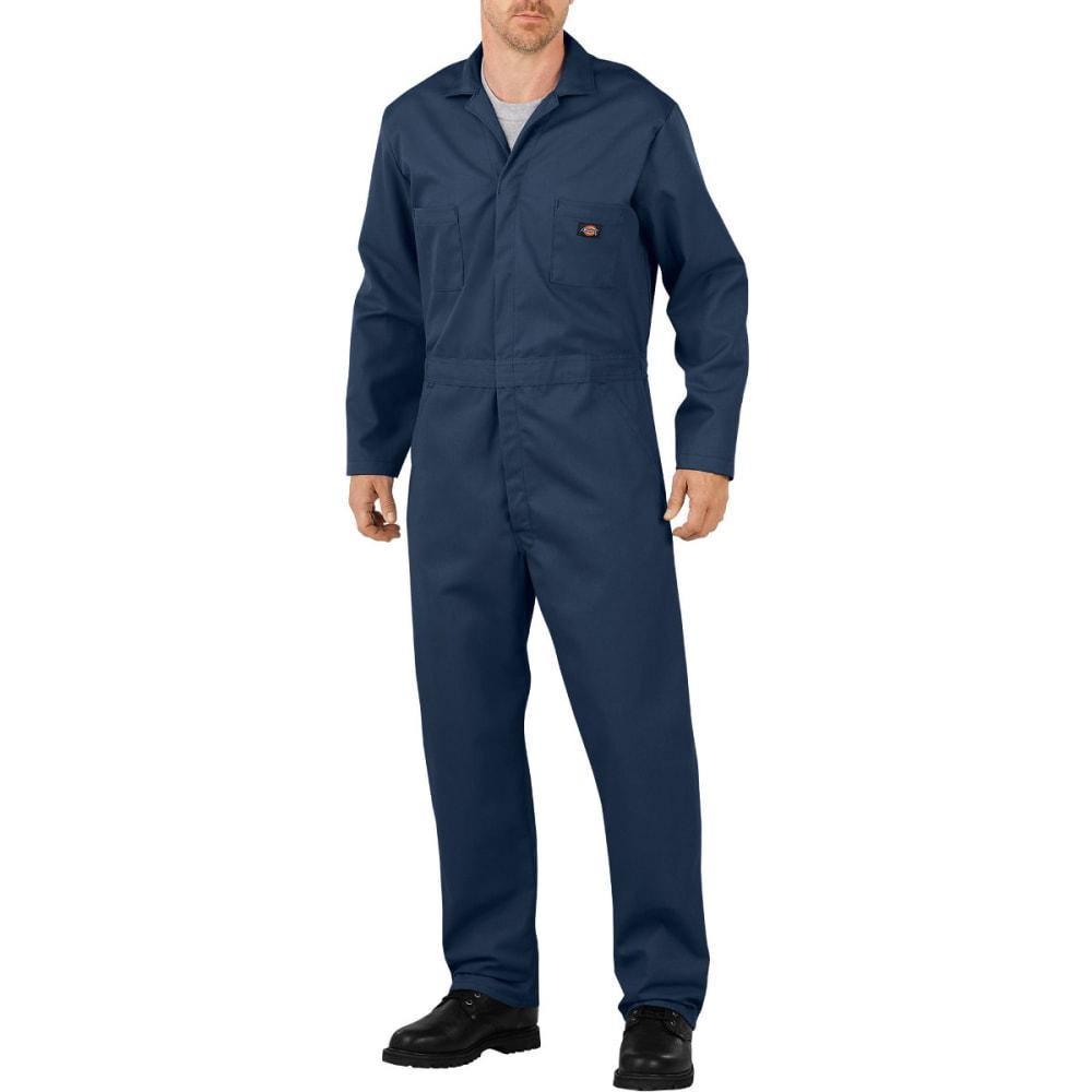 DICKIES Men's Flex Long Sleeve Coverall, Extended Sizes - DARK NAVY-DN