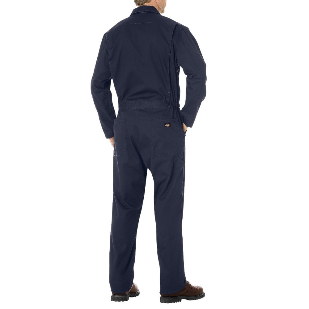 DICKIES Men's Basic Cotton Coverall, Extended Sizes - DARK NAVY-DN