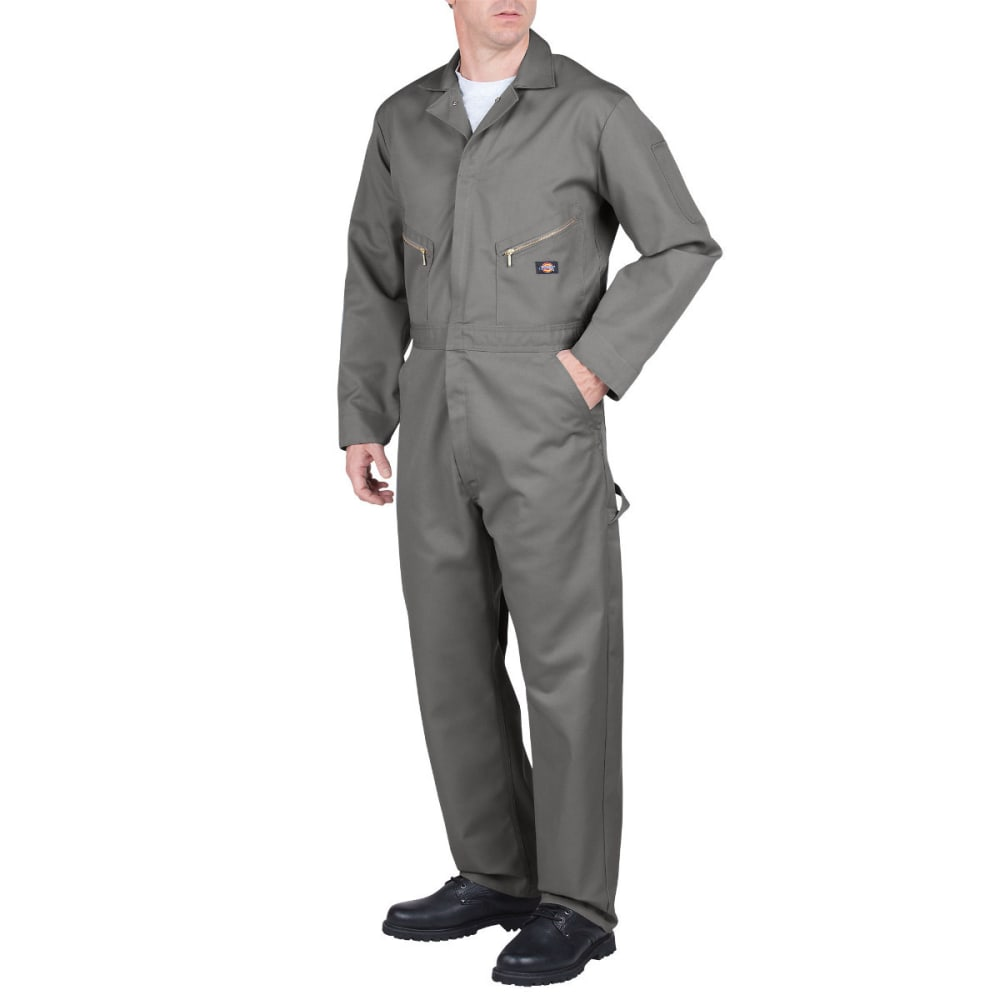 DICKIES Men's Deluxe Blended Coverall, Extended Sizes - GRAY-GY