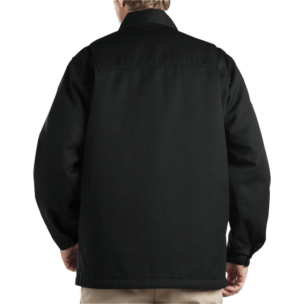 DICKIES Men's Hip Length Twill Jacket - BLACK-ALBK