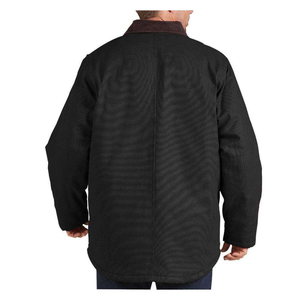 DICKIES Men's Sanded Chore Duck Coat - BLACK-BK