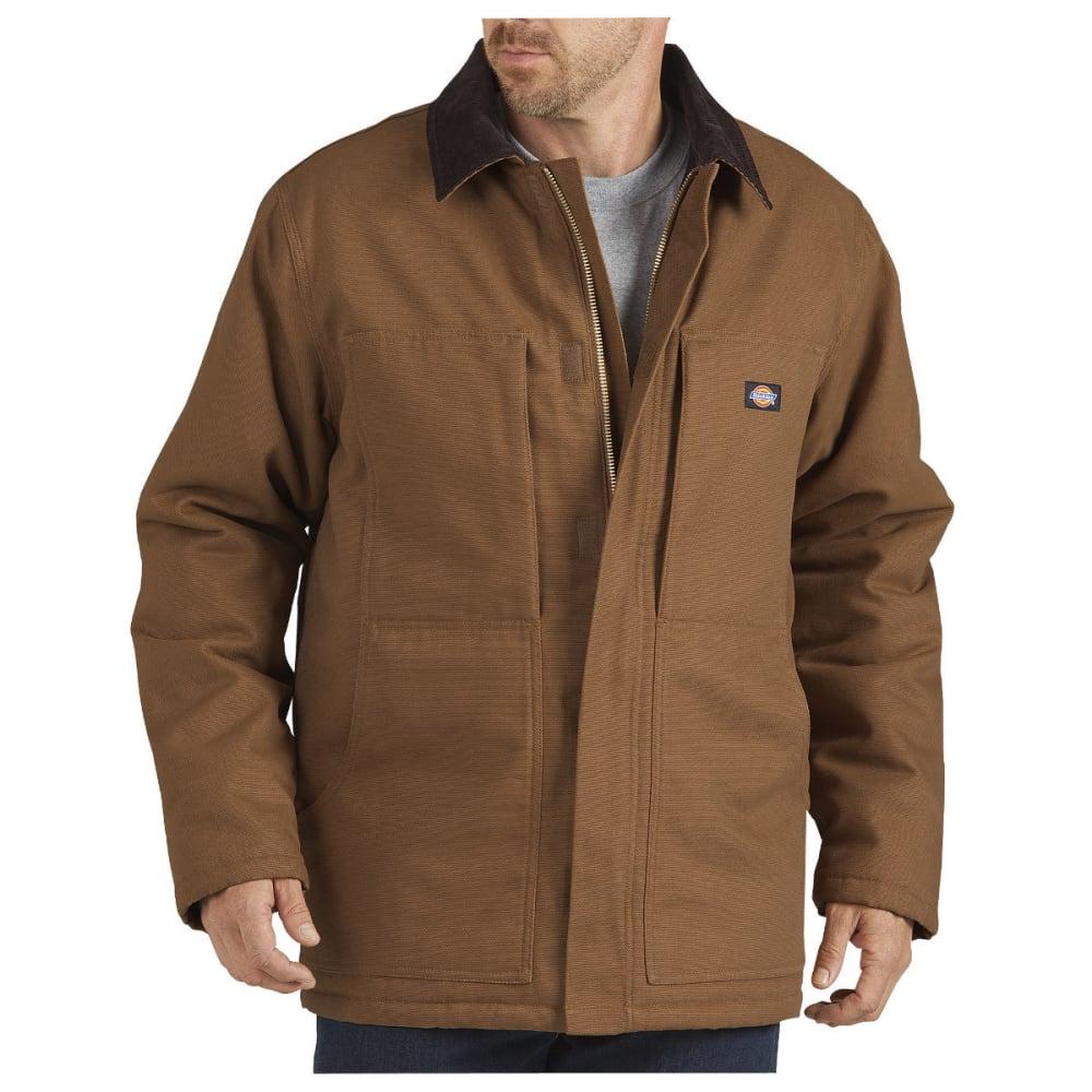Dickies Men's Sanded Chore Duck Coat - Brown TC845