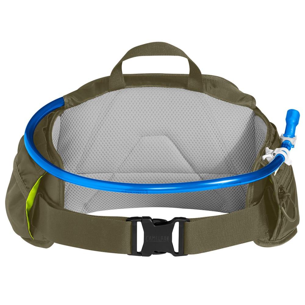 CAMELBAK Repack™ LR 4 Hydration Pack - BURNT OLIVE/LIME PUN