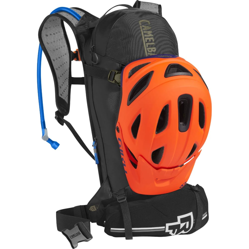 CAMELBAK T.O.R.O 8 Hydration Pack - BLACK/BURNT OLIVE