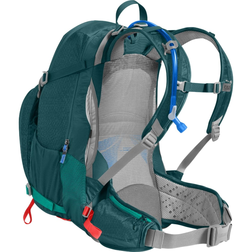 CAMELBAK Women's Sundowner LR 22 Hydration Pack - DEEP TEAL/HOT CORAL