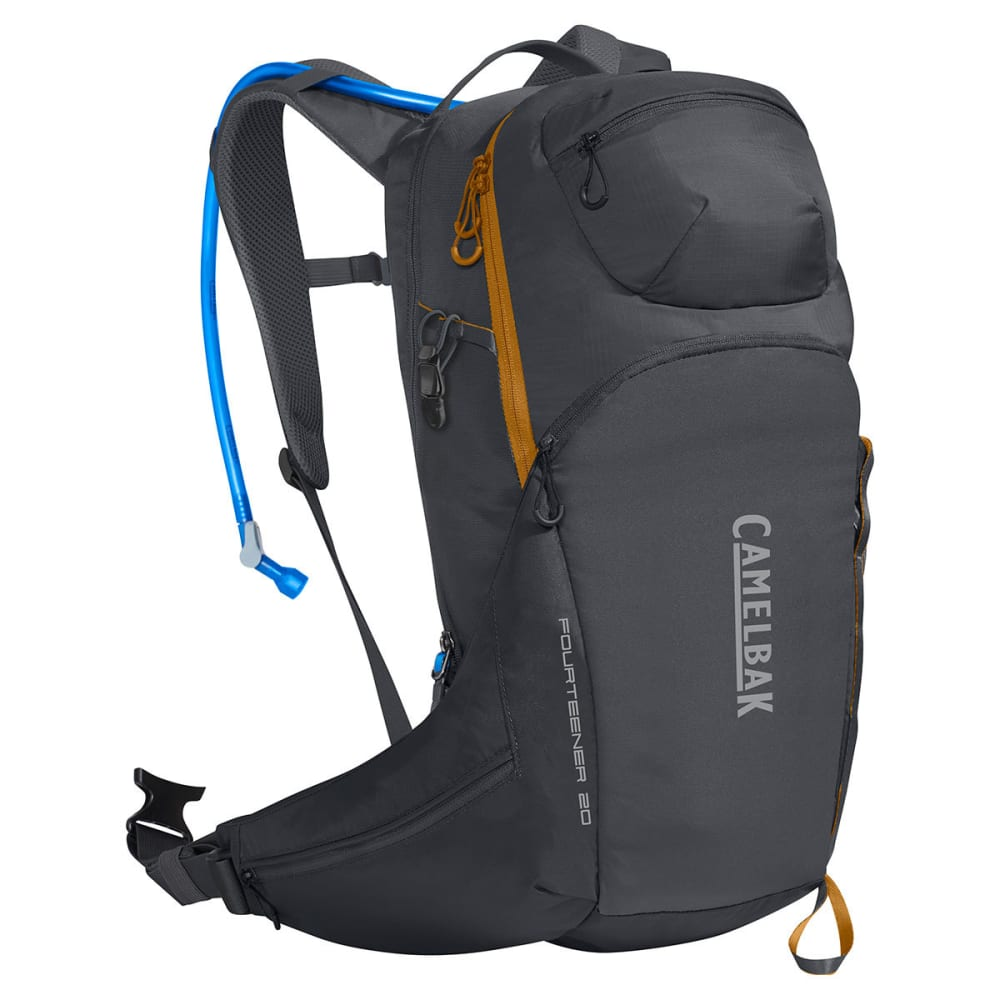 CAMELBAK Fourteener™ 20 Hydration Pack - CHARCOAL/RUST ORANGE