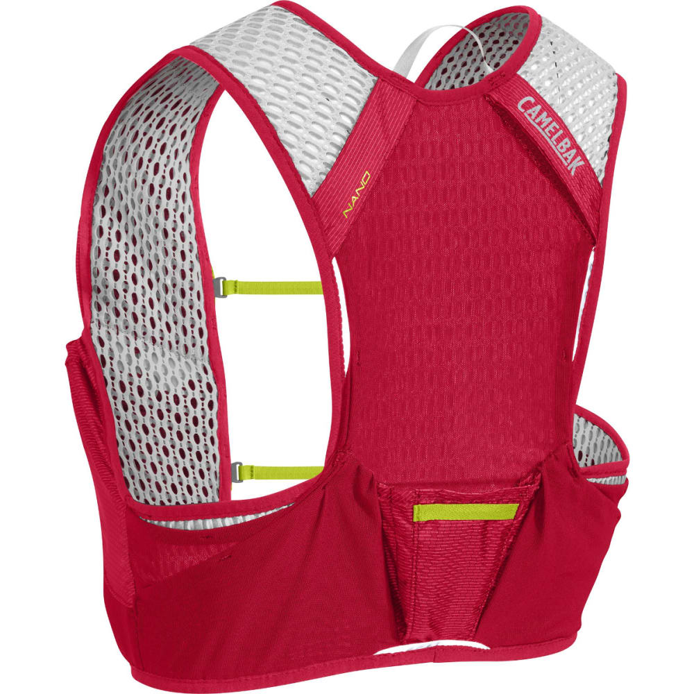 CAMELBAK NANO Vest Hydration Pack - CRIMSON RED/LIME