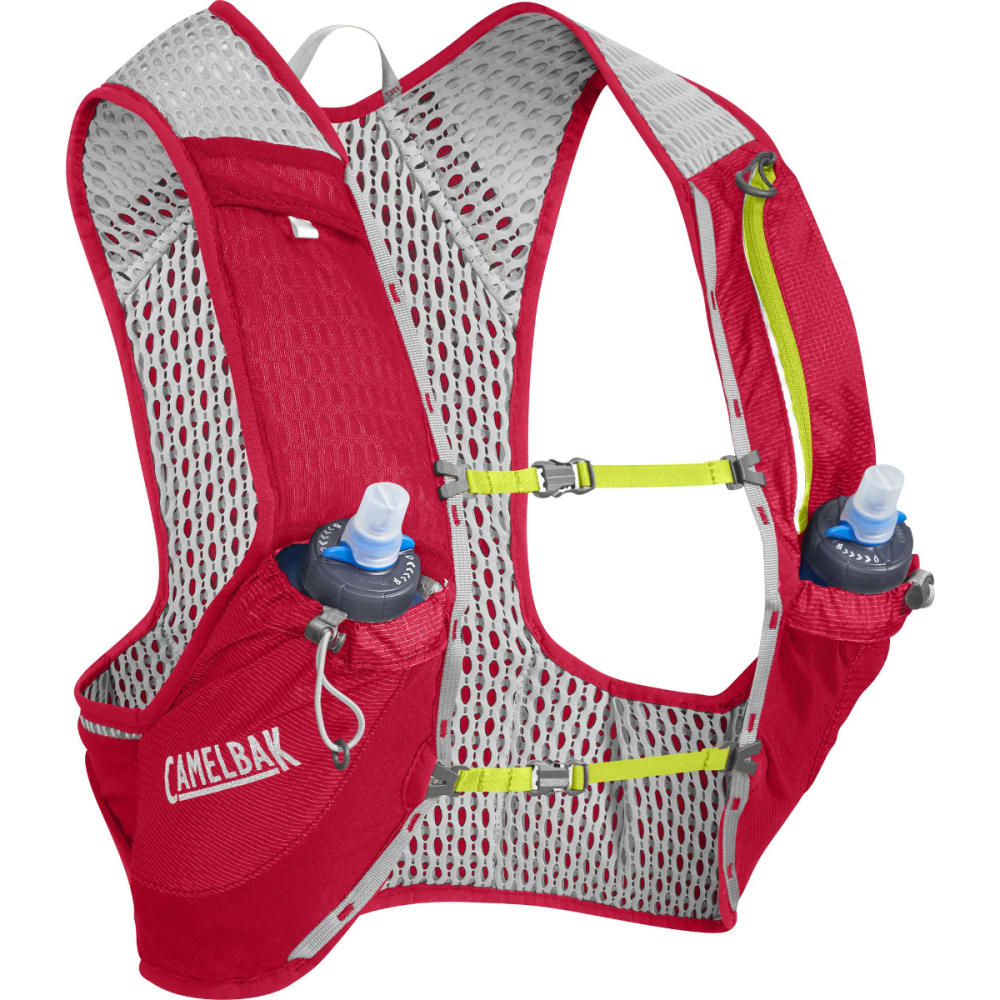 CAMELBAK NANO Vest Hydration Pack - CRIMSON RED/LIME