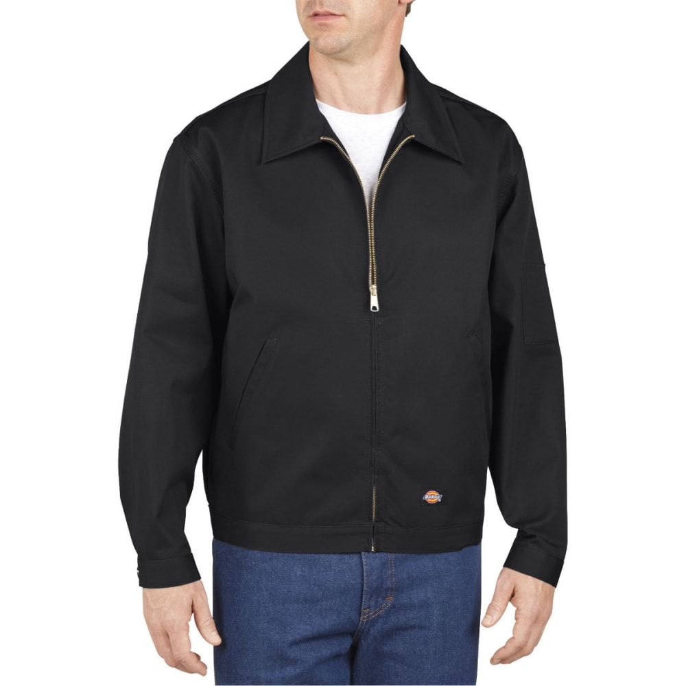 DICKIES Men's Unlined Eisenhower Jacket - BLACK-BK