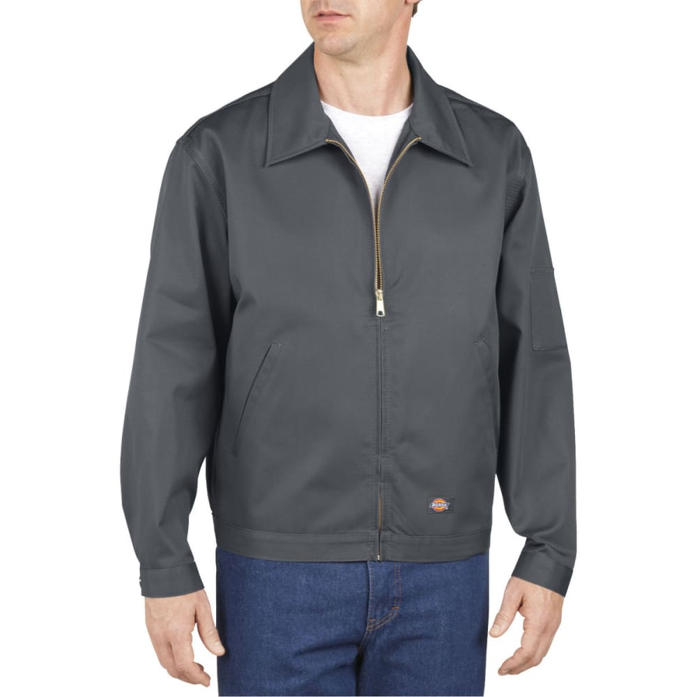 DICKIES Men's Unlined Eisenhower Jacket - CHARCOAL-CH