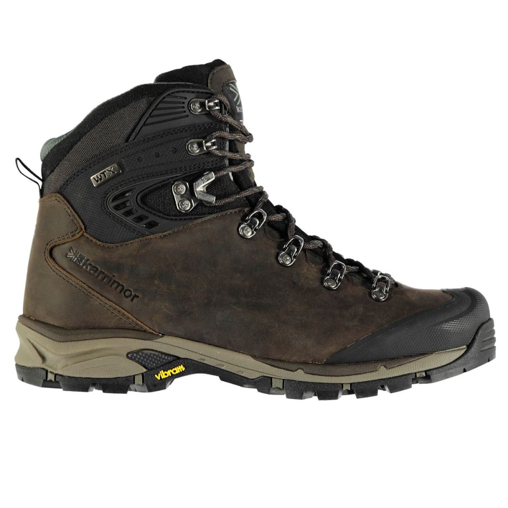 KARRIMOR Men's Cheetah Waterproof Mid Hiking Boots - BROWN