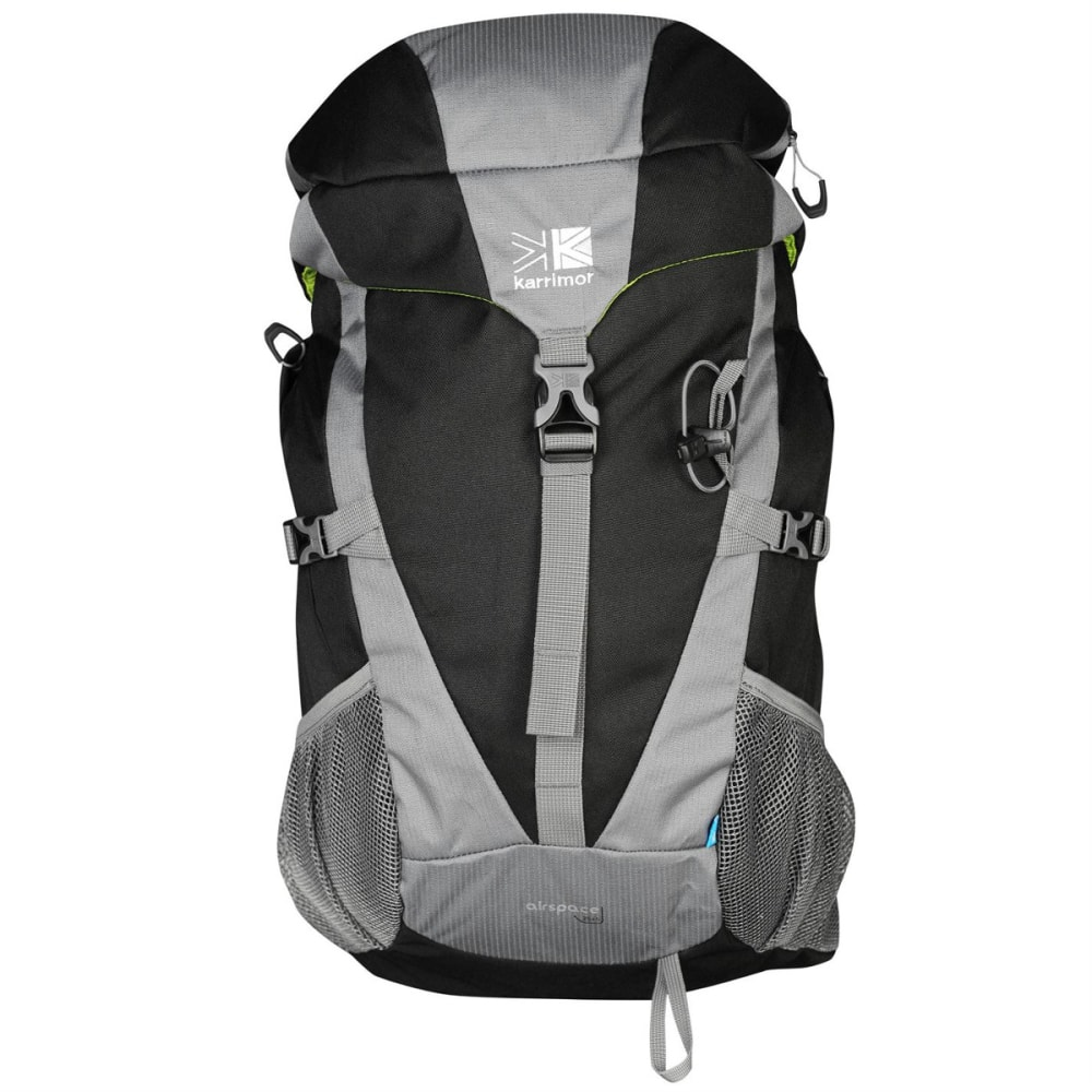 KARRIMOR Air Space 25 Backpack - BLACK/CHARCOAL