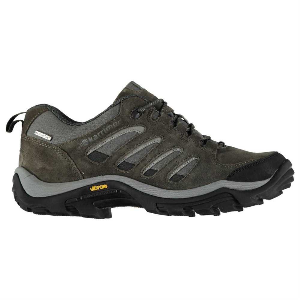 KARRIMOR Men's Low Waterproof Hiking Shoes - Black Sea