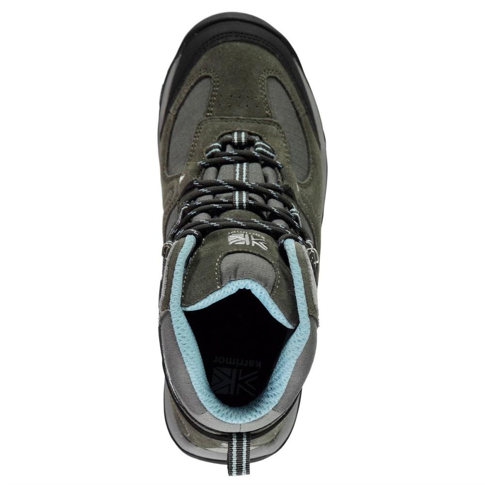 KARRIMOR Women's Aspen Mid Waterproof Hiking Boots - GREY/BLUE