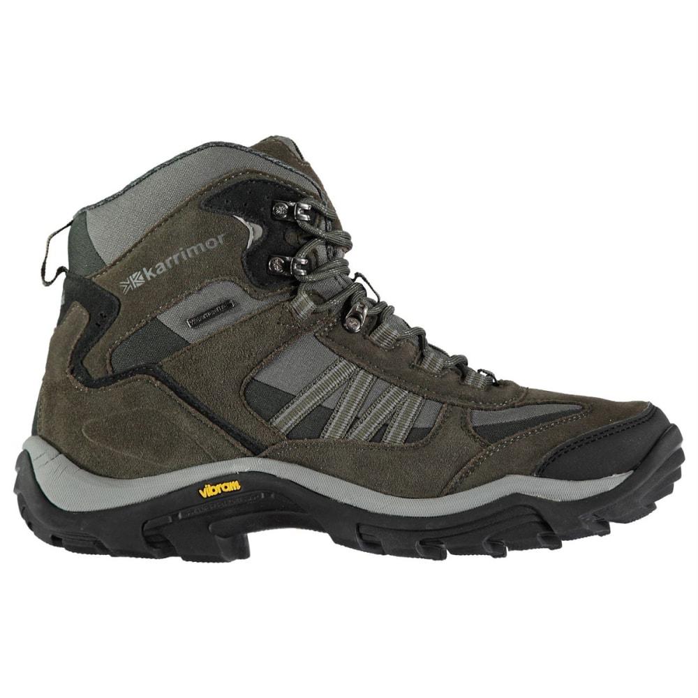 KARRIMOR Men's Weathertite Mid Waterproof Hiking Boots - Black Sea
