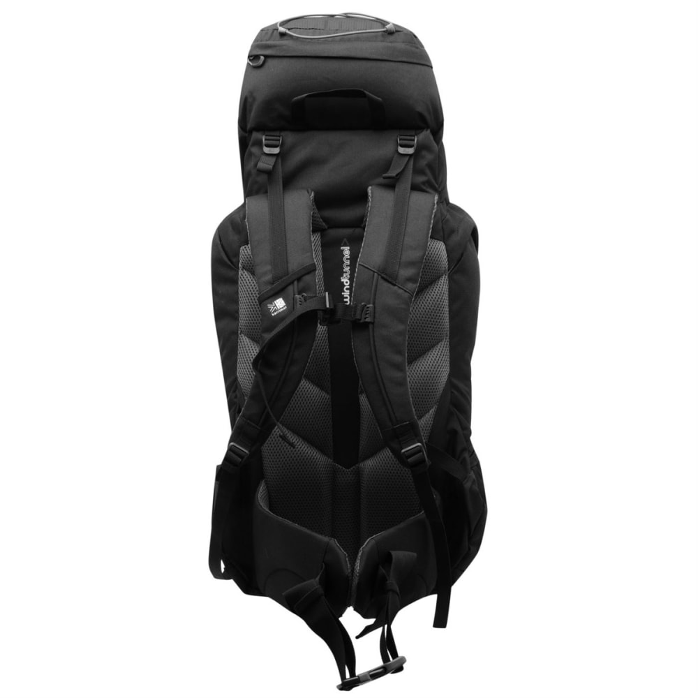KARRIMOR Bobcat 65 Pack - BLACK/CHARCOAL