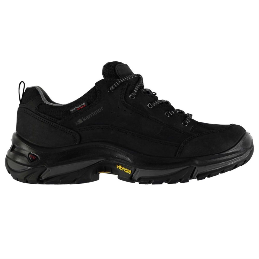 KARRIMOR Men's Brecon Low Hiking Shoes - CHARCOAL