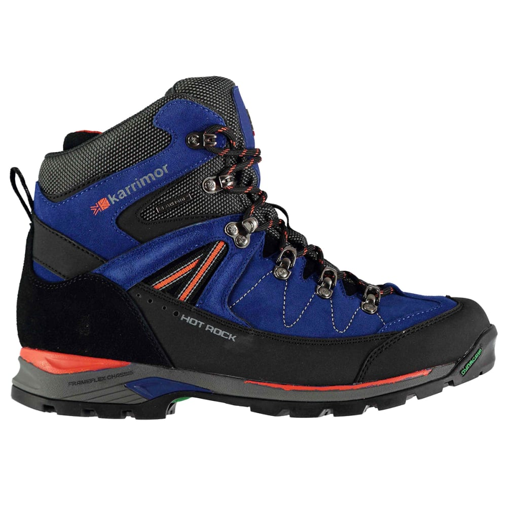 Karrimor Men's Hot Rock Waterproof Mid Hiking Boots - Blue
