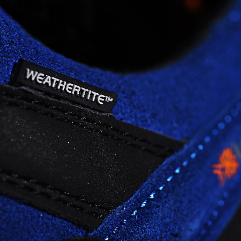 KARRIMOR Men's Hot Rock Waterproof Low Hiking Shoes - BLUE/ORANGE