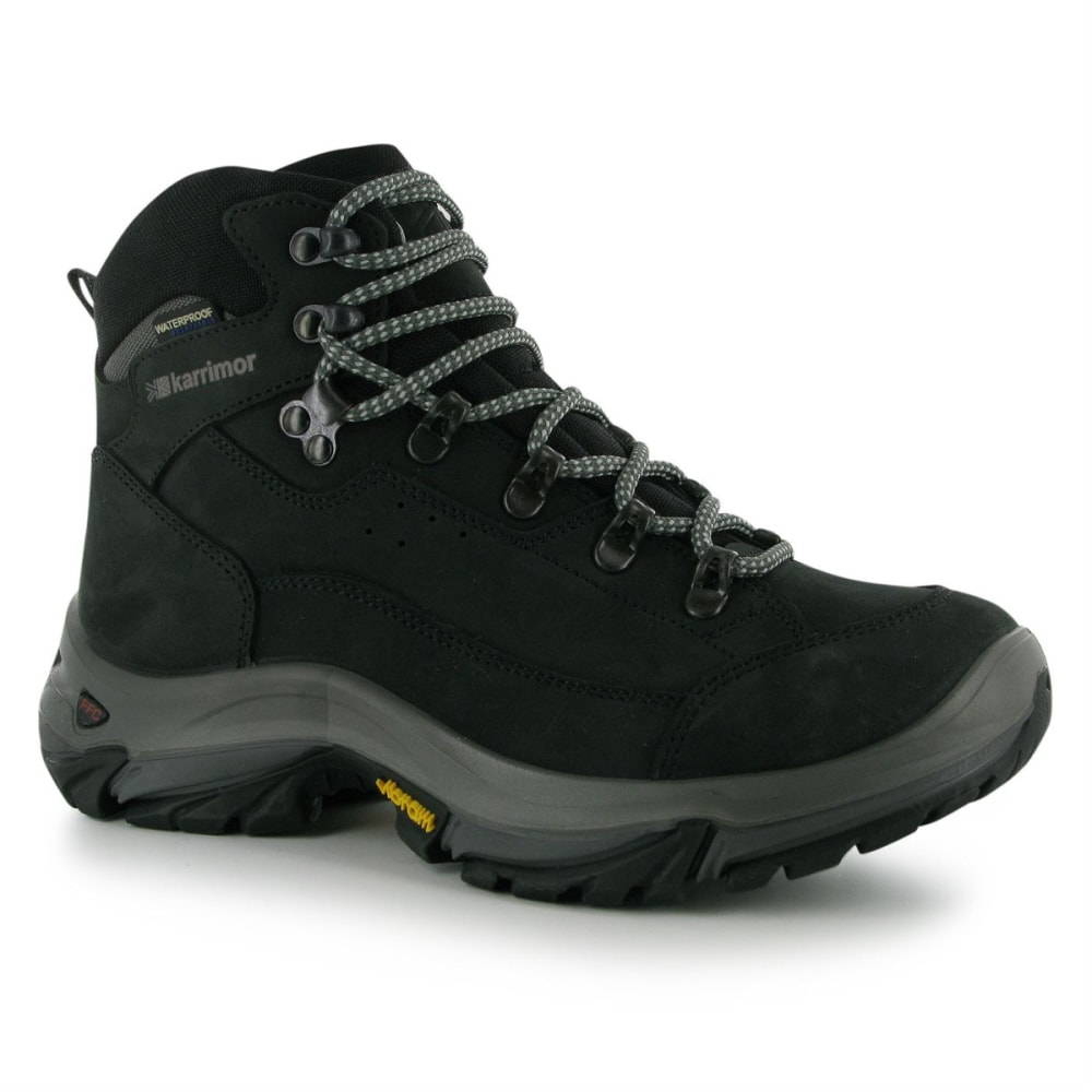 KARRIMOR Women's KSB Brecon Waterproof Mid Hiking Boots - CHARCOAL