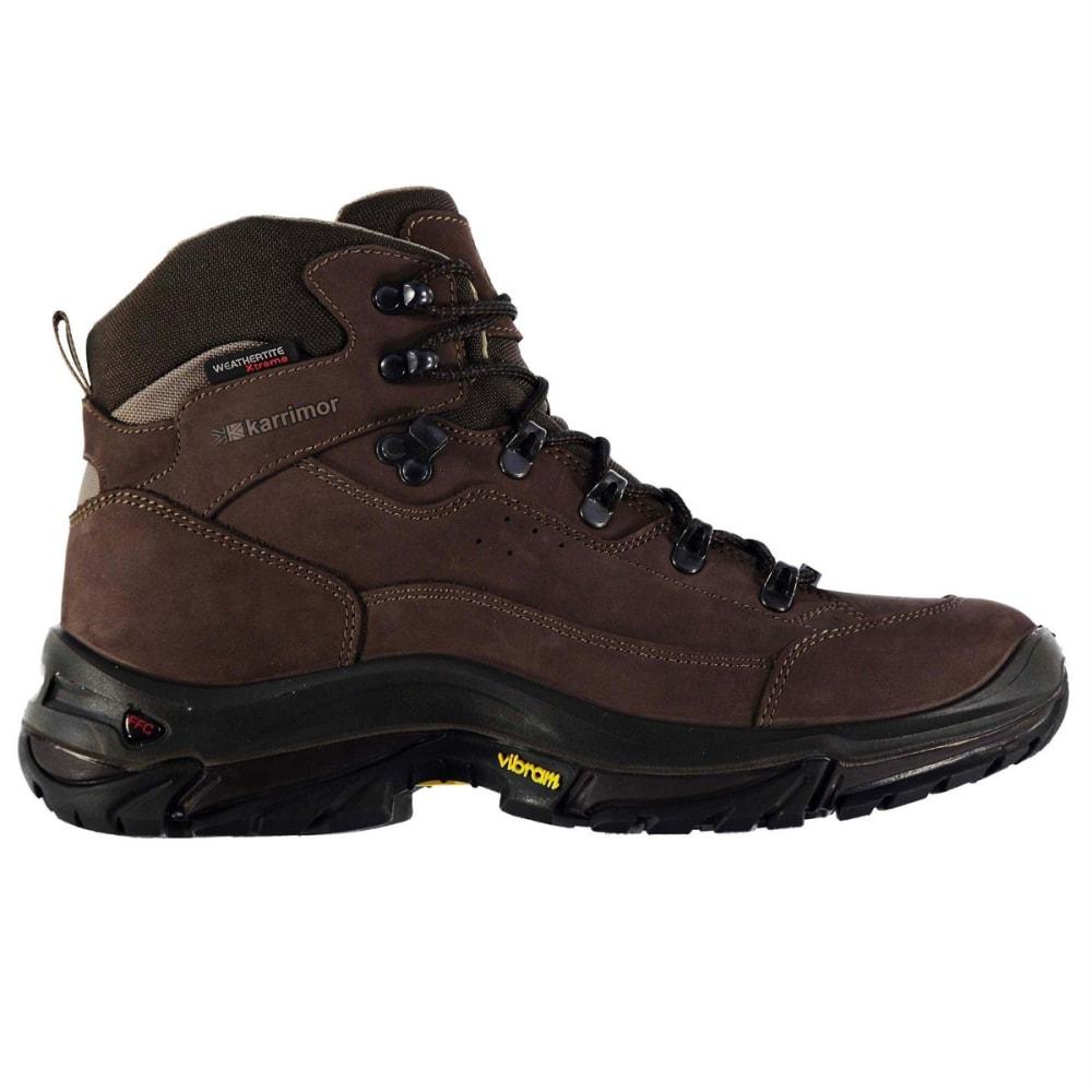 KARRIMOR Men's KSB Brecon Waterproof Mid Hiking Boots - BROWN