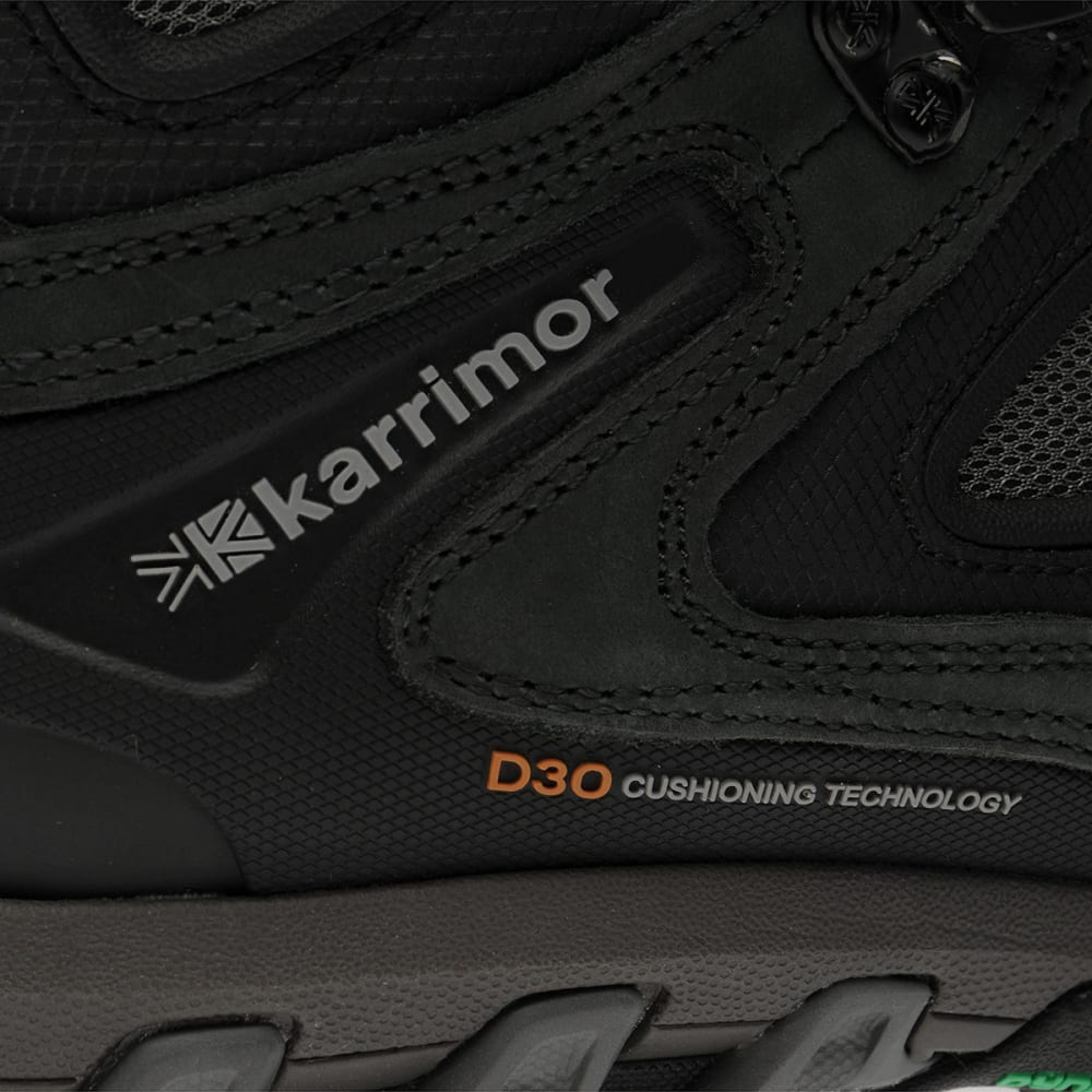 KARRIMOR Men's KSB Jaguar WTX Walking Boots - BLACK