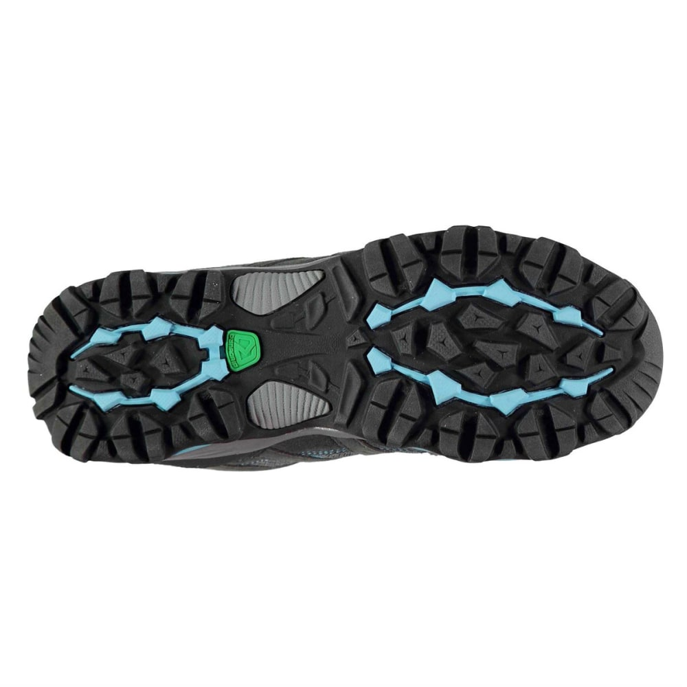 KARRIMOR Women's Mount Low Waterproof Hiking Shoes - GREY/BLUE