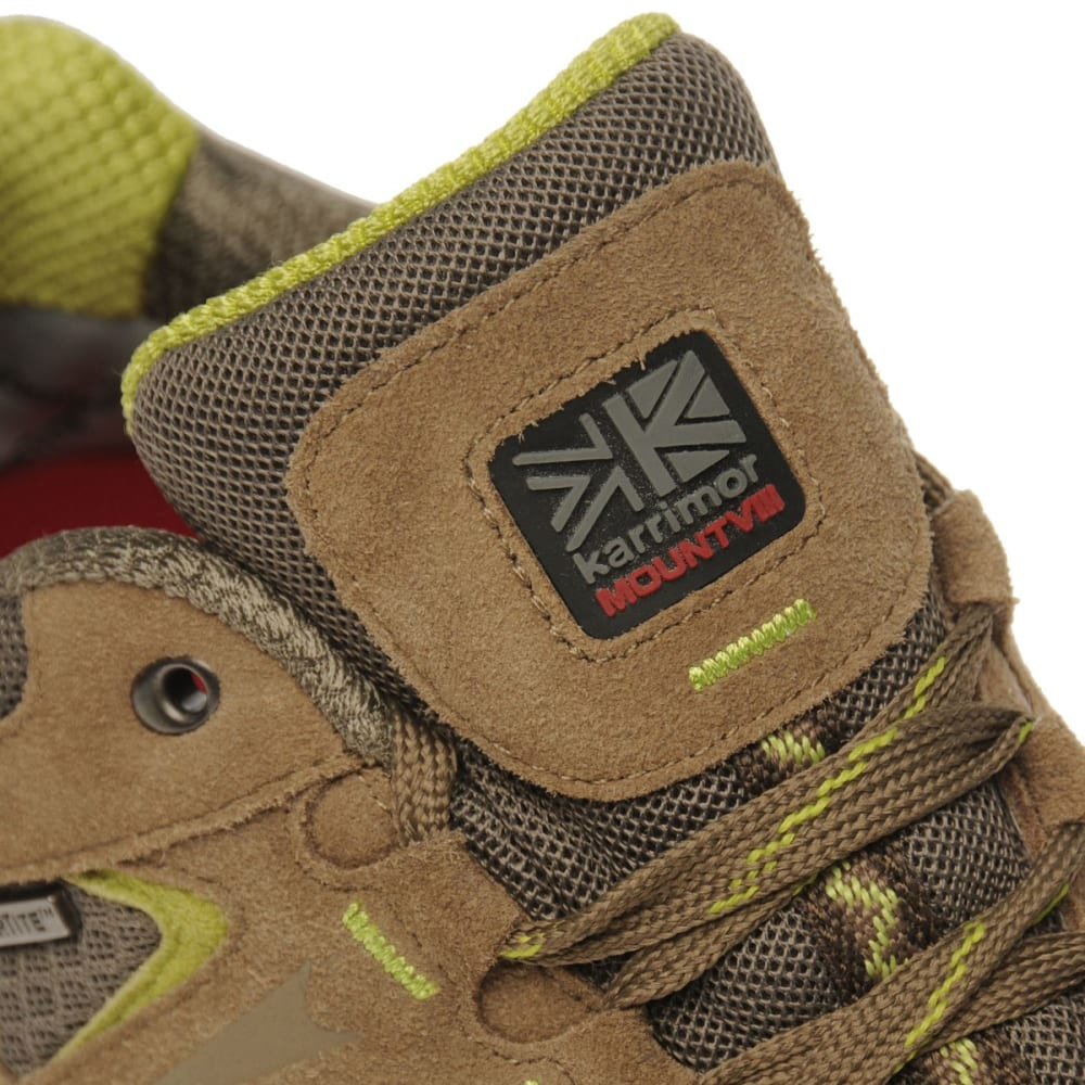 KARRIMOR Women's Mount Low Waterproof Hiking Shoes - TAUPE/GREEN