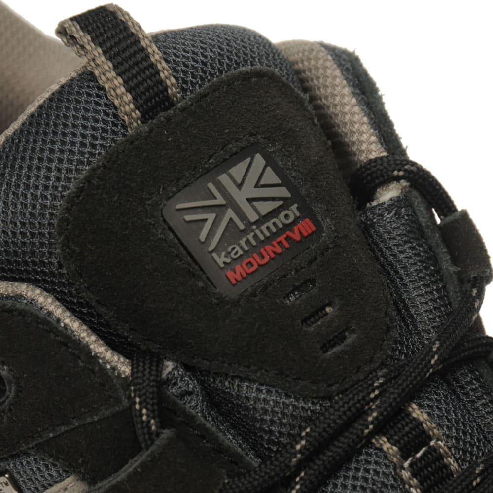 KARRIMOR Men's Mount Low Waterproof Hiking Shoes - BLACK