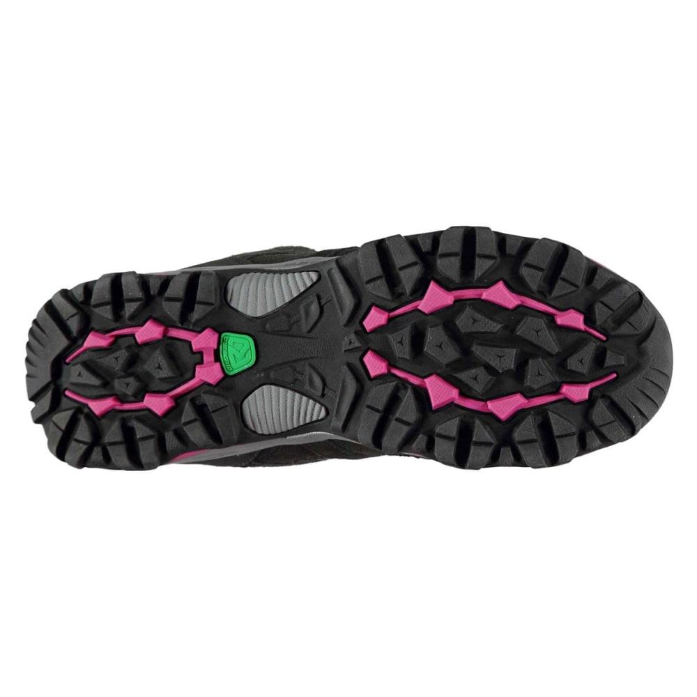 KARRIMOR Women's Mount Mid Waterproof Hiking Boots - BLACK/PINK