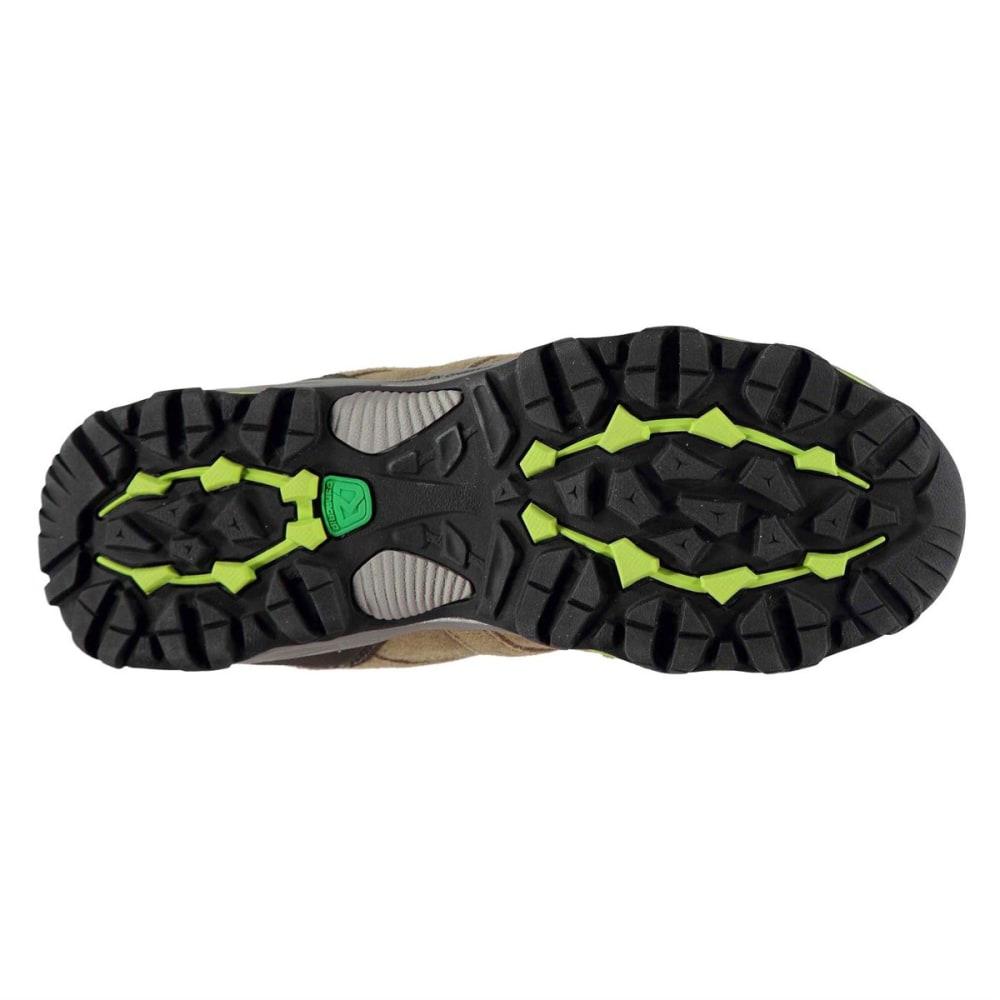 KARRIMOR Women's Mount Mid Waterproof Hiking Boots - TAUPE/GREEN