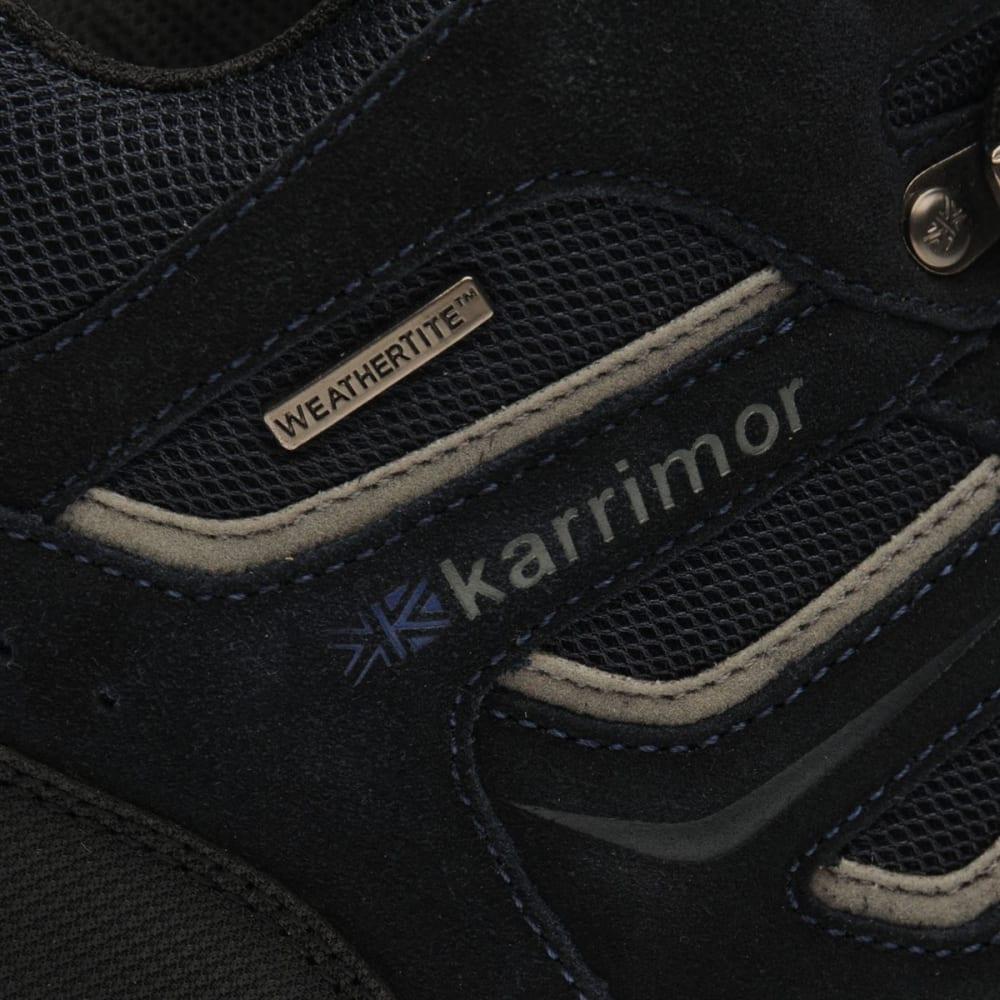 KARRIMOR Men's Mount Mid Waterproof Hiking Boots - NAVY