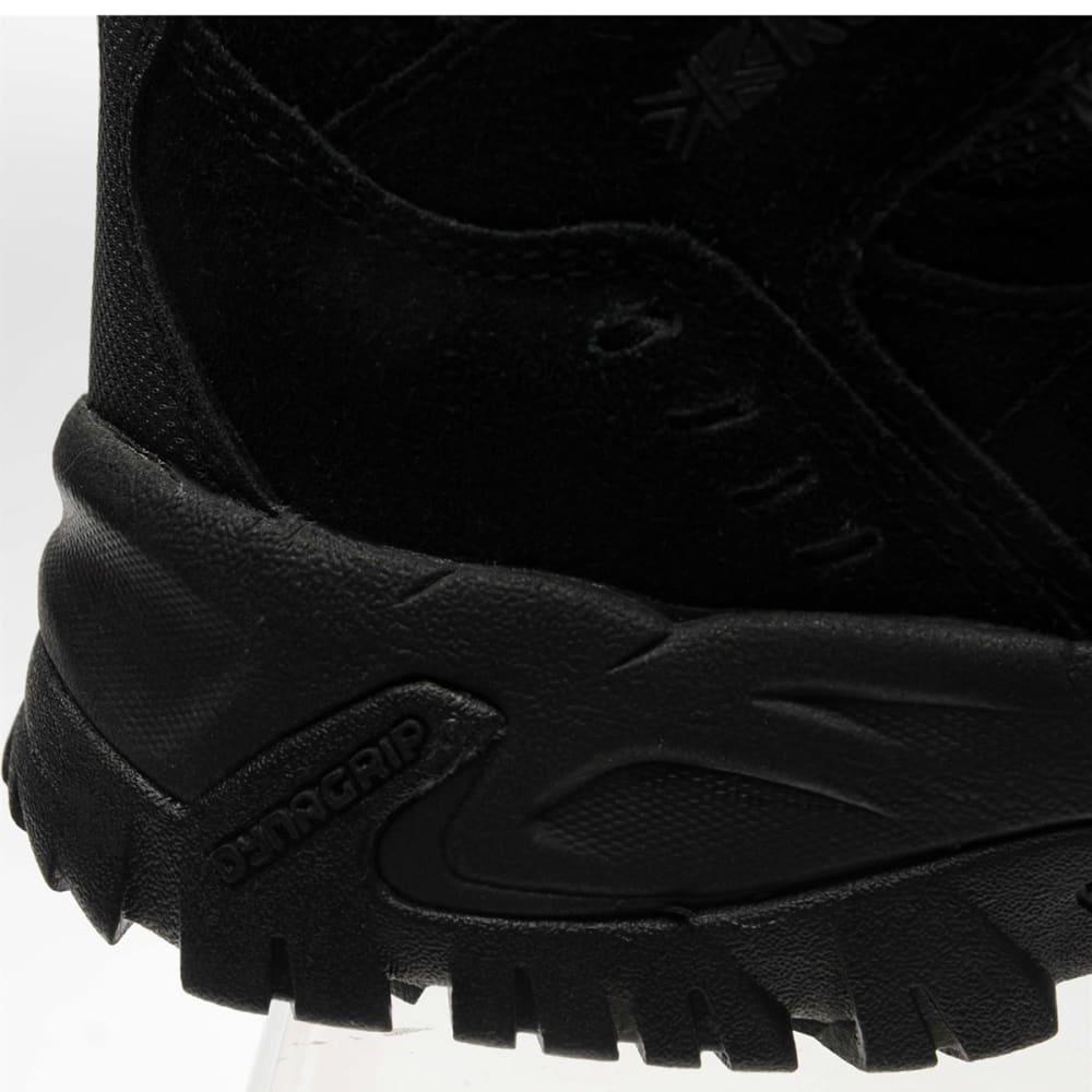 KARRIMOR Men's Mount Mid Waterproof Hiking Boots - BLACK/BLACK