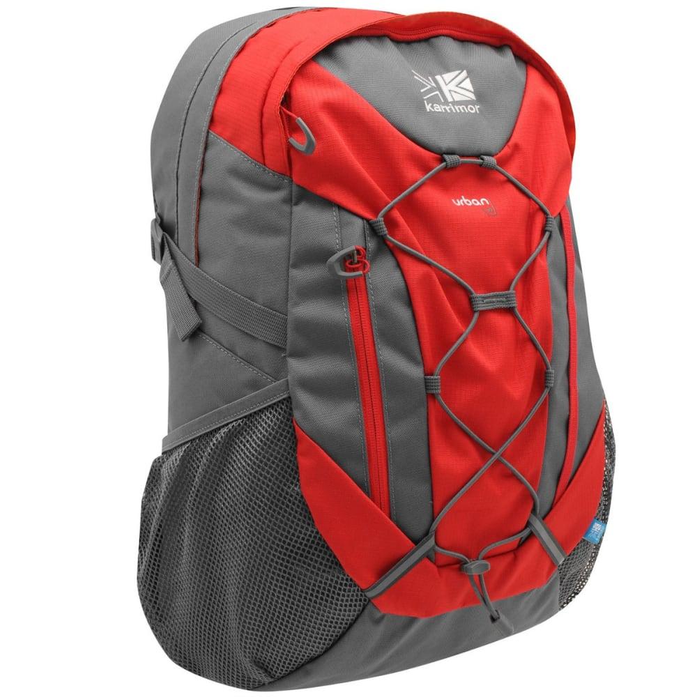 KARRIMOR Urban 30 Backpack - Bright Red/Char