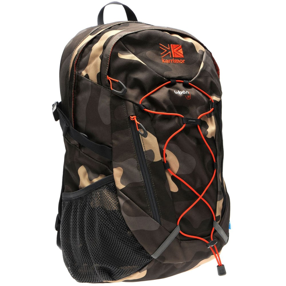KARRIMOR Urban 30 Backpack - CAMO/ORANGE