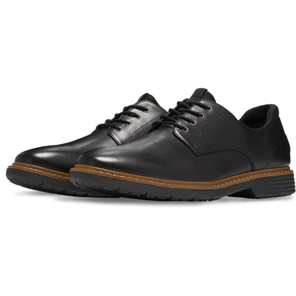 EASTLAND Men's Parker Plain Toe Oxford Dress Shoes - BLACK-01