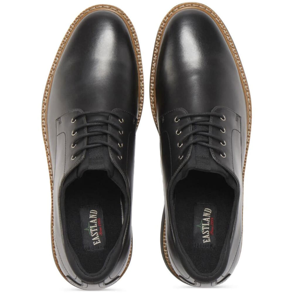EASTLAND Men's Parker Plain Toe Oxford Dress Shoes - BLACK-01
