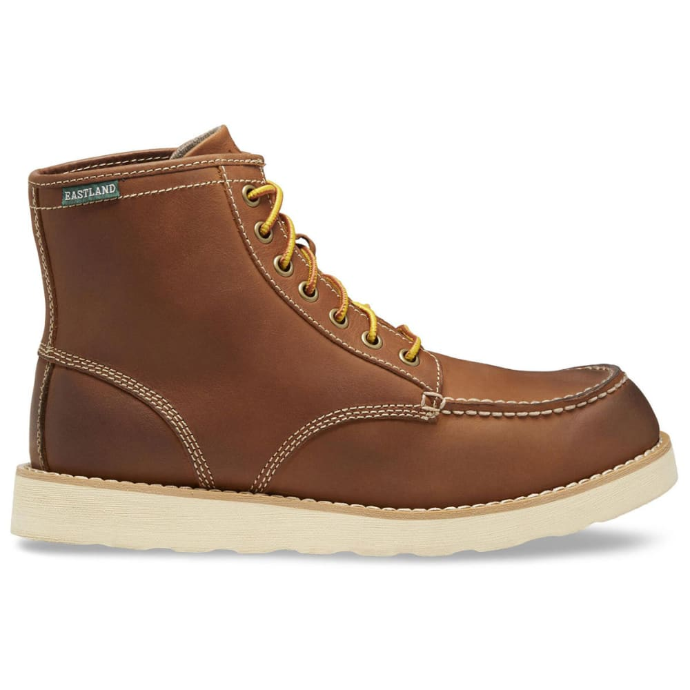 EASTLAND Men's 6 in. Lumber Up Work Boots, Peanut - PEANUT LEATHER-07