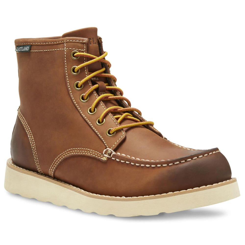 EASTLAND Men's 6 in. Lumber Up Work Boots, Peanut - PEANUT LEATHER-07