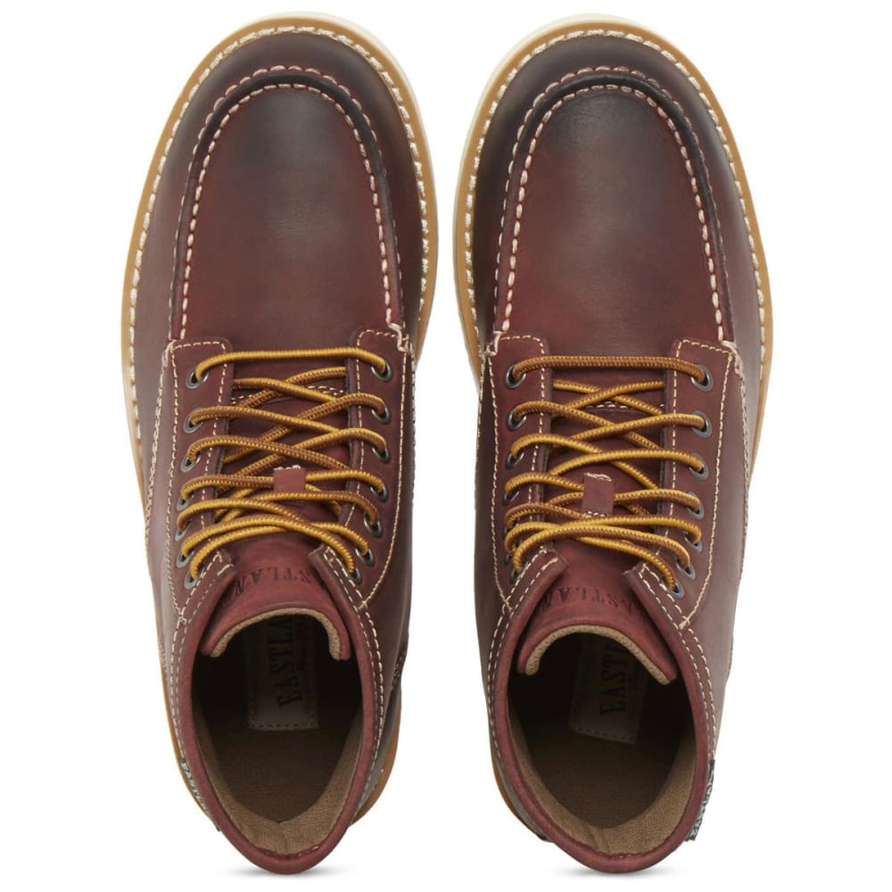 EASTLAND Men's 6 in. Lumber Up Work Boots, Peanut - OXBLOOD LEATHER-10