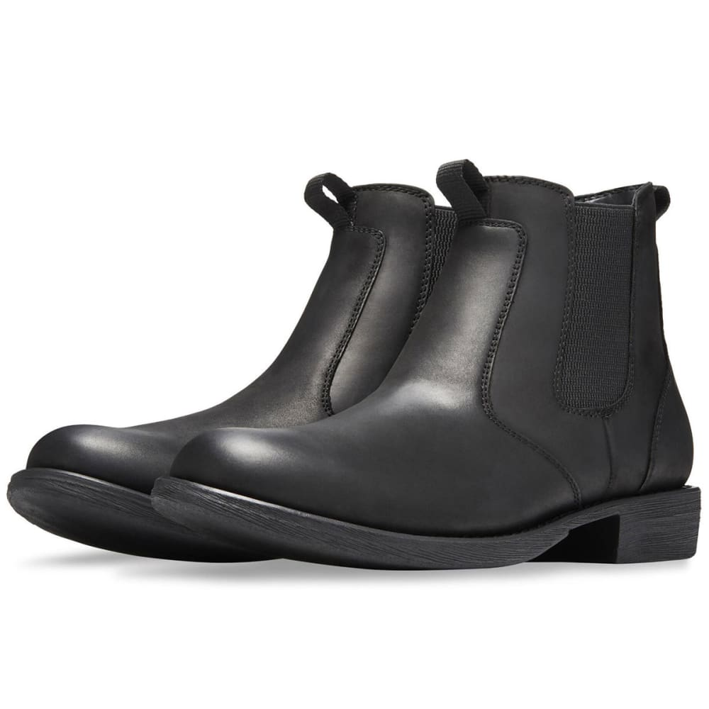 EASTLAND Men's Daily Double Chelsea Boots, Black - BLACK LEATHER-01