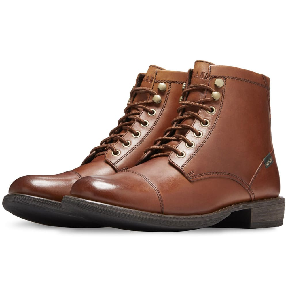 67fd93249cb EASTLAND Men's High Fidelity Cap Toe Mid Dress Boots, Tan
