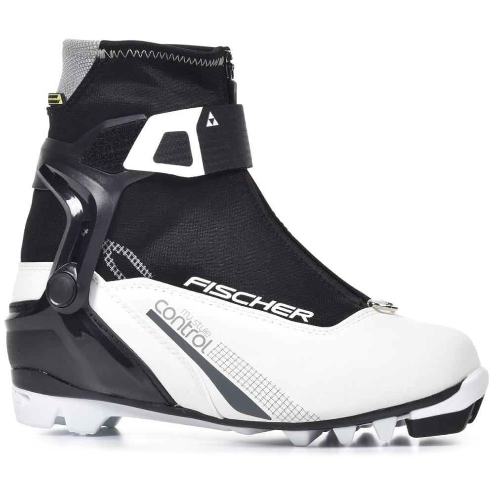 FISCHER Women's XC Control My Style NNN Ski Boots, 2017 - WHITE/BLACK