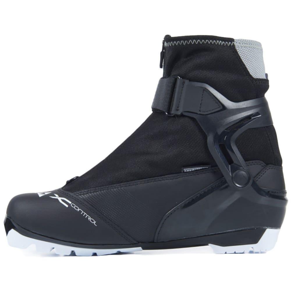 FISCHER XC Control NNN Ski Boots, 2017 - BLACK/WHITE