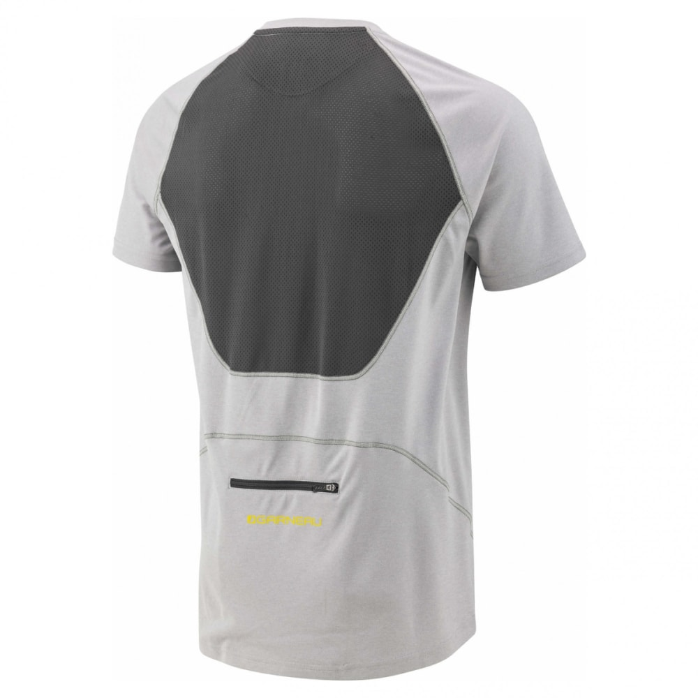 LOUIS GARNEAU Men's HTO 2 Short-Sleeve Cycling Jersey - HEATHER GREY