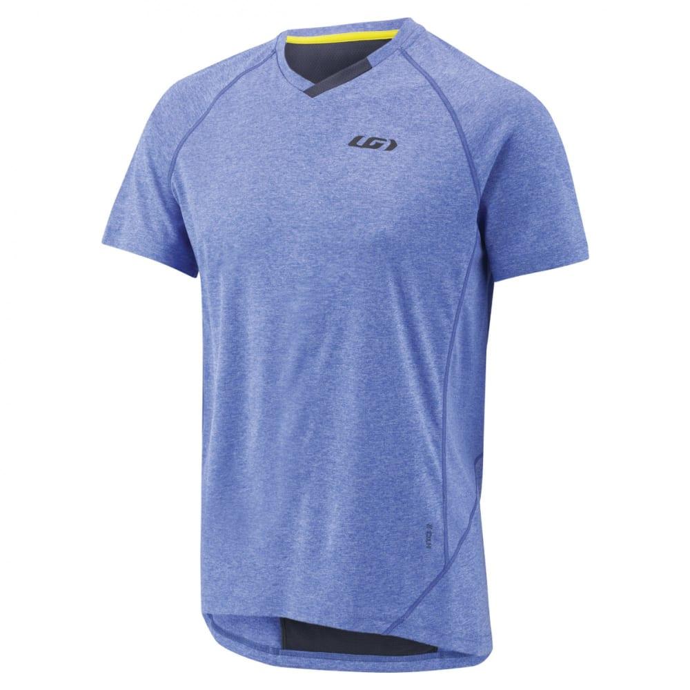 LOUIS GARNEAU Men's HTO 2 Short-Sleeve Cycling Jersey - DAZZLING BLUE