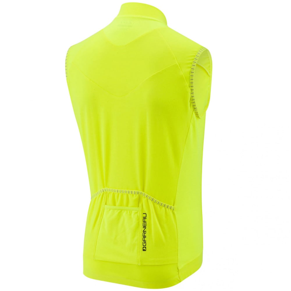 LOUIS GARNEAU Men's Lemmon 2 Sleeveless Cycling Jersey - BRIGHT YELLOW