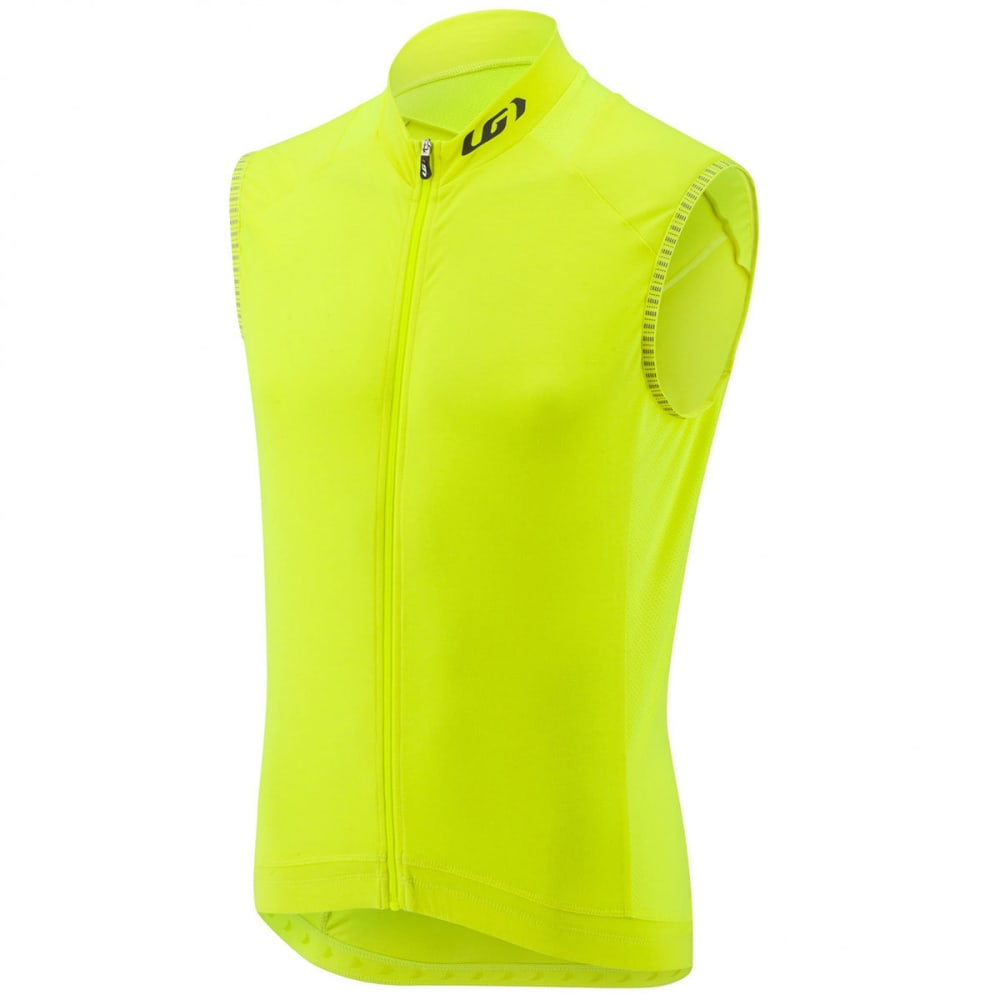 LOUIS GARNEAU Men's Lemmon 2 Sleeveless Cycling Jersey - BRIGHT YELLOW