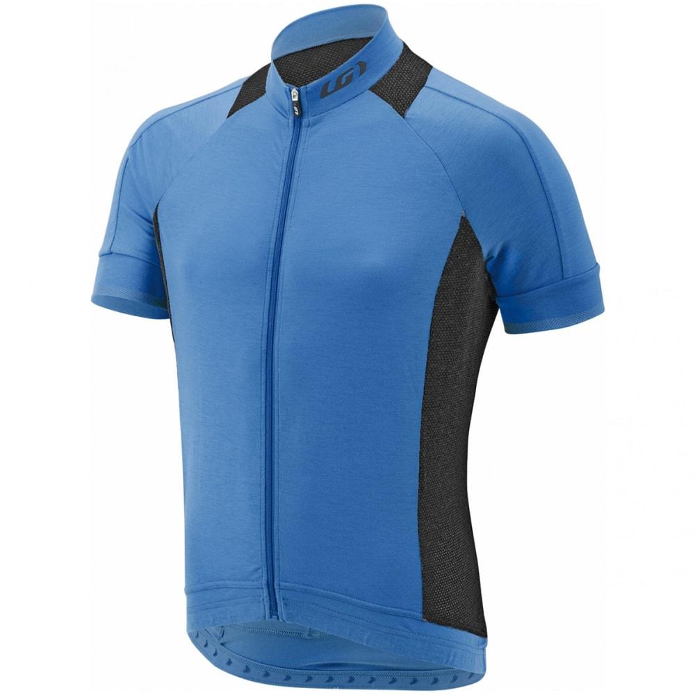LOUIS GARNEAU Men's Lemmon 2 Short-Sleeve Cycling Jersey - CURACAO BLUE