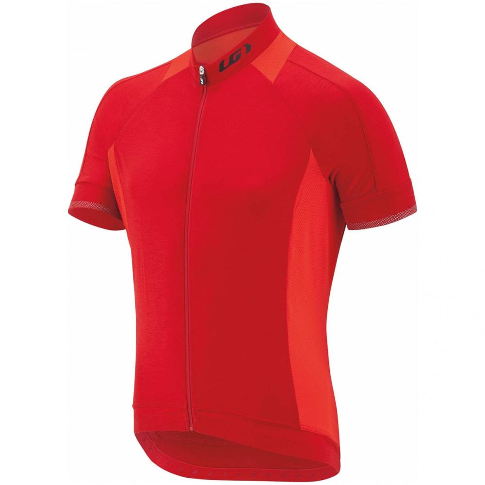 LOUIS GARNEAU Men's Lemmon 2 Short-Sleeve Cycling Jersey - BARBADOS CHERRY